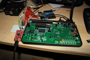 Dovado UMR: Serial port connected